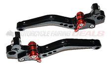 Ducati 696 Monster 2009 2010 2011 Billet Shorty Brake Clutch Lever Parts Black