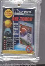 2 Ultra Pro ONE TOUCH MAGNETIC 100pt UV Card Holder Display Case Two Piece 81911