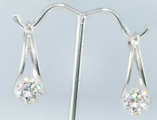 4 ct tw Birdcage Earrings Top Russian Quality Cz Extra Brilliant