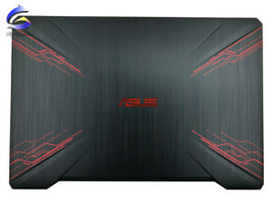 """New For Asus TUF Gaming FX504 FX80 15.6"""" LCD Back Cover TOP Cover Black"""