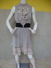 KAREN MILLEN jolie robe 100% soie taille 40 ( EU )