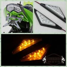 Hot Motorcycle Flush Mount Clear LED Turn Signal Lights For Yamaha YZF R1 R6 R6S