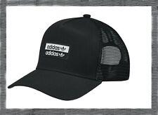 Adidas Men's Trucker Cap Premium Essentials Hat size OSFM Women Black FM1696