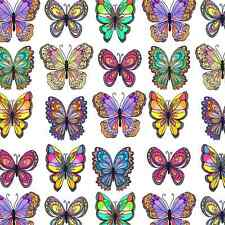 "Butterfly Tissue Paper # 299 / Gift Wrap - 10 Lg. sheets -- 20"" x 30"", Nature"