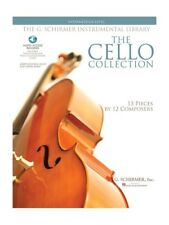 The Cello Collection Intermediate Learn to Play Songs MUSIC BOOK & Online Audio