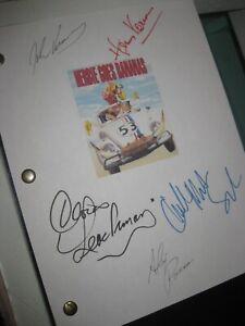 Herbie Goes Bananas Signed Film Script X5 Cloris Leachman Harvey Korman 1980 RPT