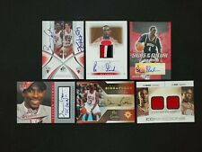 2004-05 BEN GORDON ULTIMATE/SP GAME USED/HOT PROSPECTS ROOKIE RC AUTO PATCH LOT6