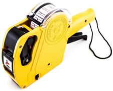 8 Digits Label Maker Machine Price Numerical Tag Gun With Sticker Labels  00006000 And Ink