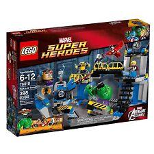 LEGO MARVEL SUPER HEROES 76018 HULK LAB SMASH * Nuovissimo e sigillato * Avengers