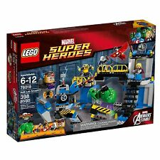 Lego marvel super heroes 76018 hulk lab smash * brand new & sealed * avengers