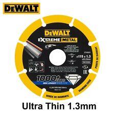 DeWalt Extreme Metal Cutting Disc Blade 115 x 1.3 x 22.23mm 4.5Inch - Ultra Thin