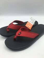 Nike Men's Size 11 Kepa Kai Thong AO3621-600 Black/Red Sandals New with Tags NWT