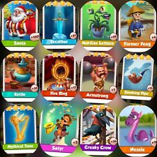 12 Rare Cards ###  Coin Master Cards Fastest Delivery