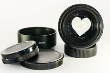 "Helios 44-2 ""Zebra"" lens with heart bokeh for M4/3, Canon, Sony & Nikon Cameras"
