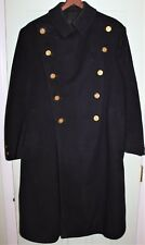 VINTAGE 1930'S NYPD POLICE OBSOLETE LONG WOOL COAT SMITH-GRAY