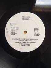 """UNIVERSAL ROBOT BAND Dance And Shake Your Tambourine RG 210 Red Greg PROMO 12"""""""
