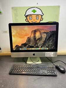"""Apple iMac 21.5"""" A1311 C2D 4GB 500GB HDD HIGH SIERRA PC DESKTOP COMPUTER AIO #3C"""