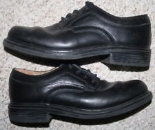Nunn Bush Black Oxford Dress Shoes 9.5 Nine 1/2 42 European Leather Uppers Solid