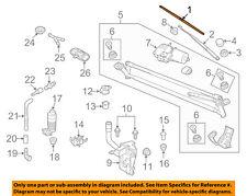 VW VOLKSWAGEN OEM 09-15 Tiguan Wiper Arm-Front Blade 5N1998002