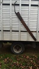 Large.  (Vintage)  Ice Saw Used in Newfield Ny,