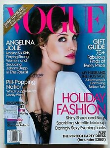 US Vogue magazine USA december 2010 dicembre Angelina Jolie Mario Testino