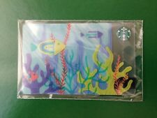 NEW! RUSSIA, STARBUCKS RUSSIAN CARD SUMMER 2018, CORAL,SEALED