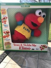 Toss and Tickle Me Elmo by Tyco and Sesame Street