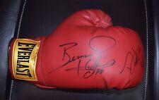 signed boxing glove Bernard Hopkins,Demetrius Hopkins s4