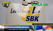 Leo Vince SBK pegatina sticker decal aufkleber autocollant 3M 50 S adesivi vinyl