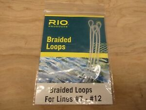 RIO Products Fly Fishing Braided Loops #7 - #12