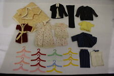 HANDMADE Lot Of Barbie/Doll Clothes,14 Pieces & Hangers, Very Nice Set!