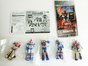 Gashapon EX HG series Super Sentai Robot Retsuden All 5 complete set Japan