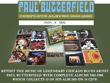 PAUL BUTTERFIELD - COMPLETE ALBUMS - 14 CD BOX SET - 140 TRACKS  - NEW 1965-1980