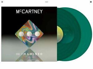 Paul McCartney III Imagined Transparent Green Double Vinyl 2,500 Copies Beatles