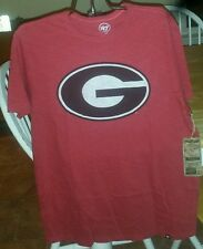 Georgia Bulldogs 47 Brand officially licensed Men's Scrum t-shirt NWT Size Med
