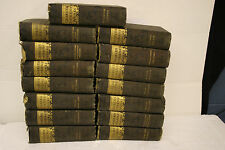 Antique1850 Books Dickens Works by Charles Dickens Copperfield Ed.15 volumes