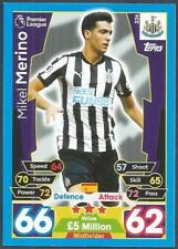 TOPPS MATCH ATTAX 2017-18- #226-NEWCASTLE UNITED-MIKEL MERINO