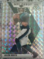 2020 Panini Mosaic Jalen Hurts NFL Debut  Prizm #265 Eagles RC Rookie