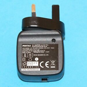 Pentax Power Adapter D-PA135 for WG-3 and WG-3 GPS Digital Cameras
