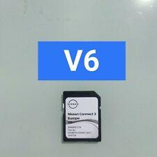 Sd card Nissan Connect 3 V6 ORIGINALE 2021  Italia ed Europa. Qashqai v5