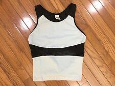 Crane Sports Women's Racerback tank Athletic Yoga Sleeveless Top Size M