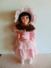 "Large Vintage Reliable Canada - Walking 24"" Doll 1978 a Baar & Beards Collar"