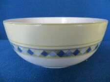Royal Doulton England Carmina Wide Yellow Band & Blue & Yellow Design