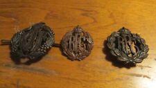 Rare Ww1 Set Of British Royal Flying Corp Badge And Pin And Raaf Ww2 Badge