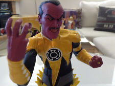 VILLAINS OF THE DC UNIVERSE SINESTRO BUST by FRANK MIB DIRECT(GREEN LANTERN