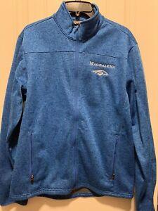 Kenny McPeek Magdalena Racing Horse Racing Jacket Sz Medium. Eddie Bauer Brand