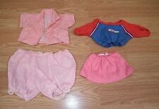 Lot Of 4: Unbranded/Generic Multi-Color Doll Clothes Only *Read*