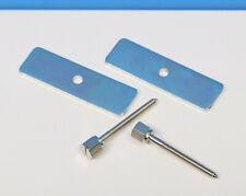 BRASS PLATED FLAT HEAD WOOD SCREWS 3//8 X #2 NEW CLOCK PARTS