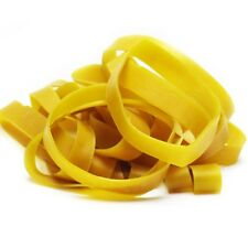 """20 Rubber Bands 4 3/4"""" x 5/8"""" Close To Size 105 Natural Large Elastic Strong"""