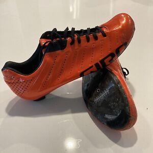 Giro Empire SLX Anodized Glowing Red/Orange Cycling Shoes Men's EU 43.5 / US 10